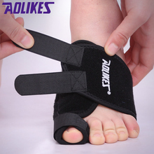 AOLIKES 1PCS Toe Orthopedic Feet Care Hallux Valgus Correction Bands Foot Protective Fixed Sports Safety