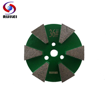 6Pcs/lot 3inch Diamond Grinding Disc Metal Bond Grinding Discs for Concrete and Terrazzo Floor Marble Polishing Grinding Pad Y10(China)