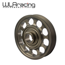 WLRING STORE- Racing Light- Weight Crank Pulley For CIVIC FD2 FD2R 2.0 K20A WLR-CP005(China)