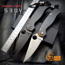 High quality BIGONG Folding Knife  S30V Cold steel Blade Carbon fiber Handle  ZT Survival  Camping Tool  Preferred