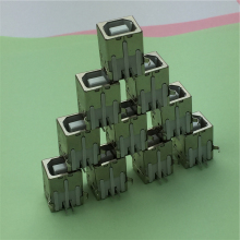 10pcs/lot USB B Type Female Socket Connector G45 for Printer Data Interface Free Shipping(China)