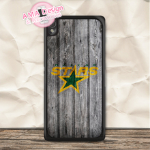 Dallas Stars Ice Hockey Case For Sony Xperia Z5 Z4 Z3 compact Z2 Z1 Z E4 T3 T2 SP M4 M2 C3 C(China)