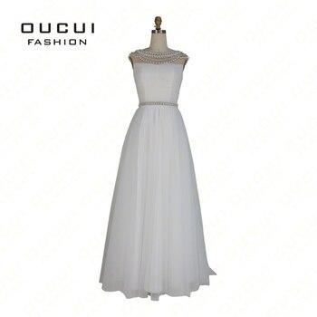 Occasion spéciale Perle Perles Femme robe de soirée Longue Robes De Soirée Parti Robe OL102831