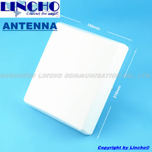 5.8ghz 16db high gain panel antenna, outdoor wireless wifi bridge directional panel antenna