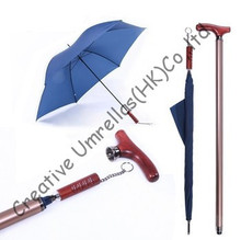 Self-defense crutch umbrellas,old man's gift,unbreakable umbrellas,walking stick,all in one parasols,alloy case,car umbrellas