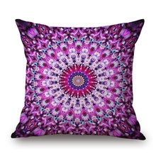 Colorful Geometric Flower Cushion Cover Candy Color Pillow Case Good Quality Pillow Covers Bedroom Sofa Decoration