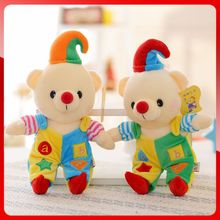 Plush Toys Bear Christmas Clown Dolls Corporate Events Holiday Gifts(China)