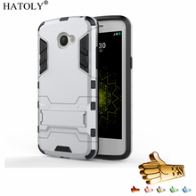 Buy HATOLY Armor Case LG K5 Case X220 X220DS Case Shockproof Robot Hybrid Rugged Silicone Rubber Hard Phone Cover LG K5< for $2.98 in AliExpress store