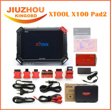 Original XTOOL X100 Pad2 Pro Auto Key Programmer X 100 PAD 2 With EPB EPS OBD2 Odometer Adjustment Tool oil service light reset