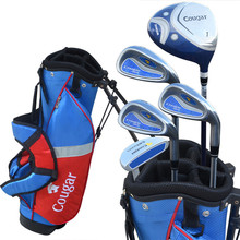 Boy Girl Golf Clubs Complete Set With Bag Full Set Golf Clubs Complete Golf Sets For Children(China)