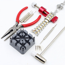 HOT Sale 16PCS High Quality Watch Repair Tool Watch Clock Hours Opener Tool Kit Repair Change Cell Pin Remover Fixed Tools(China)