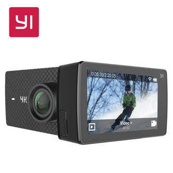 "YI 4K+ Action Camera Amba H2 SOC Cortex-A53 IMX377 4K/60fps 12MP CMOS 2.19""LDC RAM EIS WIFI"
