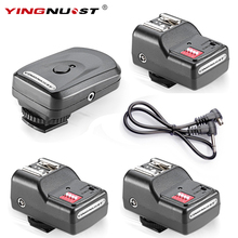 YINGNUOST 16 Channel Wireless Remote Radio Flash Trigger + Three PC Receivers for Canon/Nikon/Yongnuo Camera Universal Hot Shoe(China)