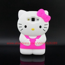 For Samsung Galaxy J1 Case Classical Hello Kitty Design Silicone Phone Cases Cover For Samsung J100 SM-J100