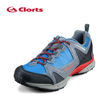 2016 Clorts Men Trekking Shoes 3D028A/B Cow Suede Outdoor Shoes Waterproof EVA Hiking Shoes Sport Sneaker for Men