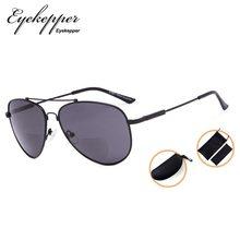 3c9ef2ea69 SG1804 Eyekepper Bifocal Sunglasses - Polit Style Reading Sunglass With  Memory Bridge and Arm