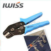 IWISS DuPont PH2.0 Crimping Tool PLIER SN-01BM 0.08-0.5MMAWG28-22/ SCN2.5 / SM2.5 / XH2.54mm plug spring cold computer terminals