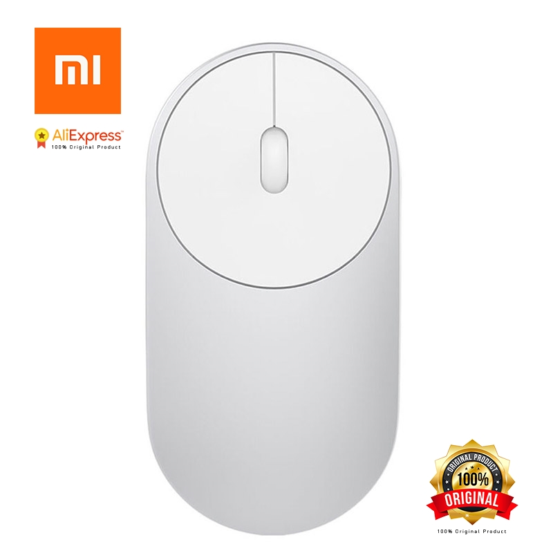 Original Xiaomi Mouse XMSB01MW Portable Wireless Mi Optical Bluetooth 4.0 RF 2.4GHz Dual Mode Connect Mi Office Mouse Stock