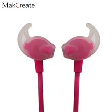Makcreate Pink Earphone Headphone For A Mobile Phone Sport Headband Headphones for Running High Quality For Computer