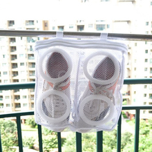 Hanging Dry Sneaker Mesh Laundry Bags Shoes Protect Wash Machine Home Storage Organizer Accessories Supplies Gear Stuff Product