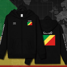 Congo Republic COG Congolese mens Hoodies Sweatshirts hoodie jackets men streetwear hooded tracksuit sportswear clothing printed(China)