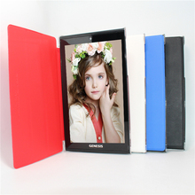 Hot Allwinner A33 Quad core Android 4.4 7 inch tablet pc Original Flip Cover dual camera 1GB/8GB Bluetooth wifi 1024x600 IPS