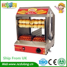 Best Price Commercial 110V 220V Countertop Electric Hot Dog Steamer Warmer Display Showcase For Sale(China)