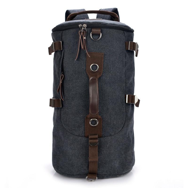 2017 New Large Capacity Men Travel Bag Casual Multifunctional Backpack Men Bags Leisure Canvas Bucket Shoulder Bag Luggage Bag<br>