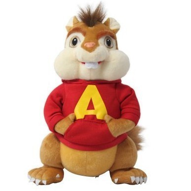 Alvin And The Chipmunks 35CM Plush Toy Figure Pets Doll Chipmunks Alvin<br><br>Aliexpress
