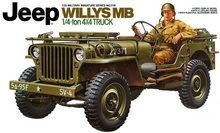TAMIYA 35219 1/35 Scale Jeep Willys MB 1/4 Ton 4x4 Truck(China)
