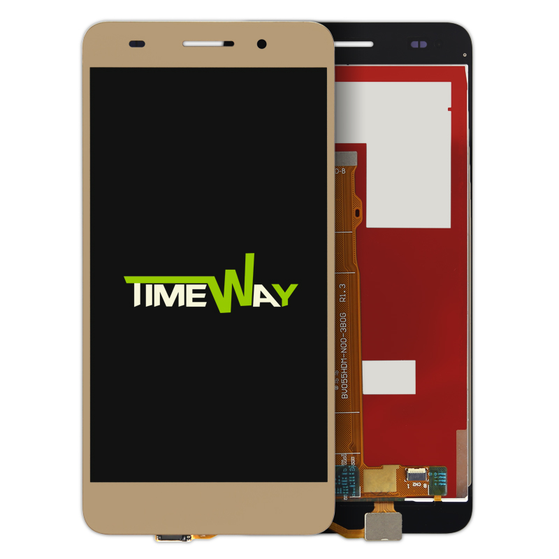 For Huawei honor 5A touch screen Panel Digitizer+LCD display test ok,Black white&amp;gold<br><br>Aliexpress