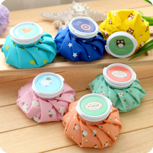 Free shipping cute candy colors 6 inch 450ml Health Care Reusable Knee Head Leg Muscle Sport Injury Relief Pain Ice Bag Cap GYH