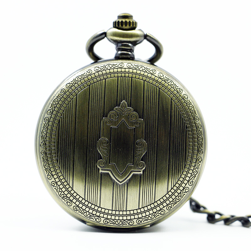 Vintage Pocket Watch Mechanical Hand Winding Necklace Key Chain Luxury Gift Pocket Watch<br><br>Aliexpress