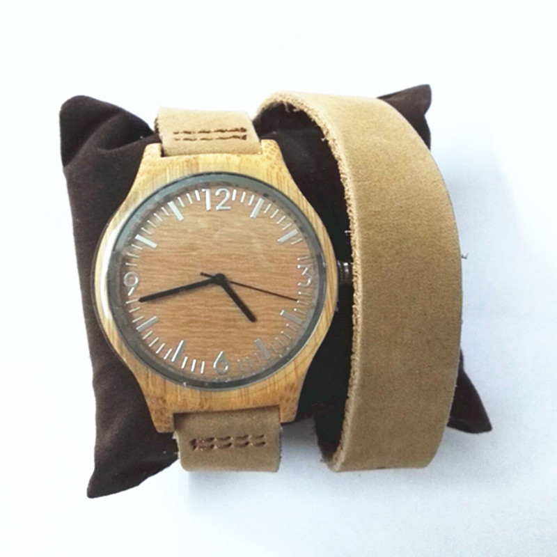 Fashion Bamboo Wooden Women Watch With Japen MiYOTA  Movement For Birthdays Gift<br><br>Aliexpress