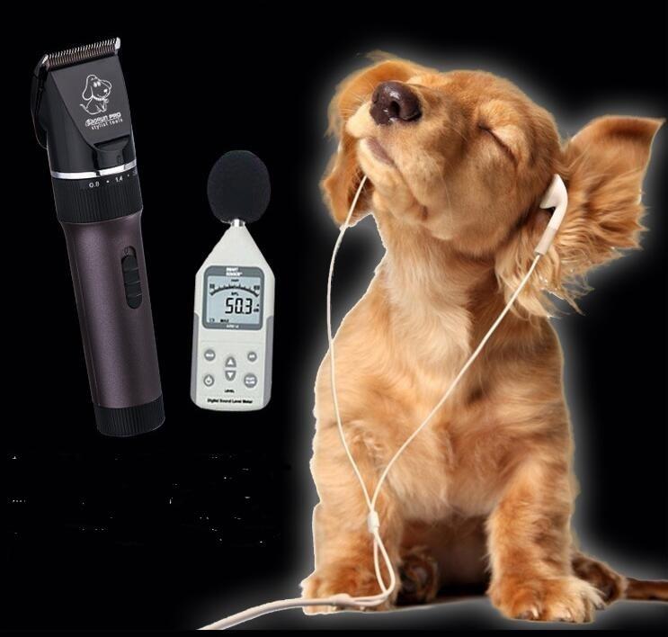 professional pet hair trimmer 2000ma li battery black ceramic blade dog hair clipper teddy fur cut tool cat precision hair shave<br>
