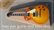 in stock  1959 R9 honey Burst Les Chinese Paul LP Style Standard Electric Guitar with EMS Free Shipping popular