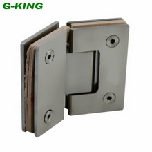 135 stainless steel glass clip bathroom glass hinge glass hinge wire drawing glass clip(China)