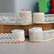 Clothes laciness accessories diy handmade doll clothing table cloth curtain cotton lace decoration material