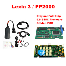 Newest lexia Full Chip Lexia3 PP2000 with Diagbox V7.83 FW 921815C and Orignal Lexia 3 V48 V25 Lexia-3 diagnostic-tool(China)
