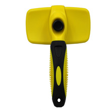 Pet Dog Self-cleaning Comb Brush Dematting Tool Undercoat Remover for Dogs Cats  Grooming Tools