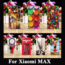 AKABEILA Soft TPU Plastic Cases Cover For Xiaomi MAX Cases Mi Max Covers Skin Shell Hood Paintbox Chocolate Candies Shield Bags