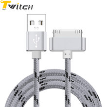 Buy USB Cable Fast Charger iphone 4 4s 3GS iPad iPod Nano itouch 4 30 Pin Charge adapter Cable Charging Data Sync Apple for $1.69 in AliExpress store