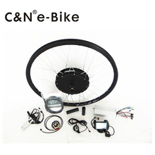NEW lcd display in kit ! 1500w electric bike conversion kit rear wheel kit with LCD