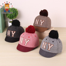 1-3 years old Baby Hat Casual Baby Helmet kids Girls Boys Baseball Caps Child Fashion Cool Baby Hats for Autumn Spring Winter