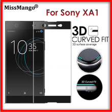 "Buy Sony Xperia XA1 XA 1 Glass 3D Full Curved Tempered Glass Film Sony Xperia XA1 / Dual G3112 5"" Protective Toughened Film for $3.09 in AliExpress store"