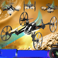 New RC Drone With Camera Hd Multi- Function Dron Rc Mini Quadcopter Flying Camera Helicopter Professional Drones Udi U941A(China)