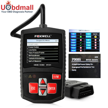 Car Diagnostic-Tool Foxwell NT201 OBD2 Automotive Scanner Multi-language for Car Engine OBD 2 Code Reader(China)