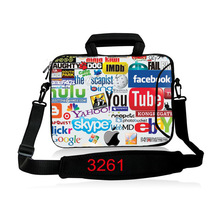 10 11.6 13.3 14.4 15.6 17.3 inch Laptop Briefcase Ultrabook Shoulder Bag Ultra thin Handbag Notebook Case Messenger Bag SB-3261(China)