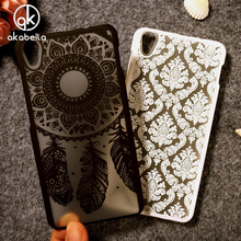 Akabeila Hollow Flower Mobile Phone Cases For Lenovo S850 S850T S 850 5.0 inch Case Covers Fundas Shell Smartphone Back(China)