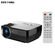 GP70 HD Mini Projector 800Lumens 1080P Full HD LED Projection Machine w/ HDMI VGA AV USB SD Card Slot Port Remote Control